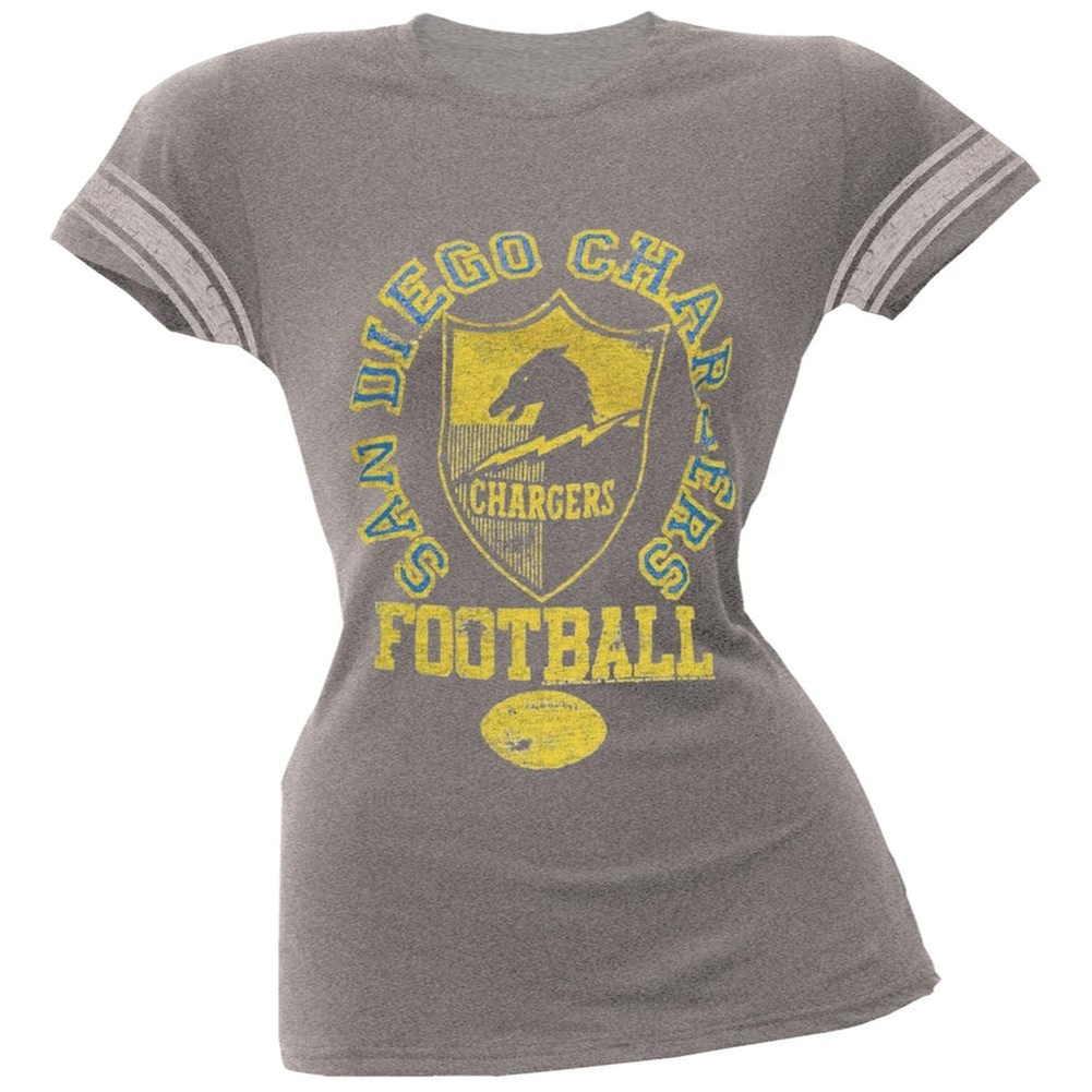 San Diego Chargers - Vintage Logo Juniors Varsity T-Shirt