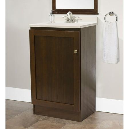 Os Home And Office Furniture Model 3438 19 E Saving Bathroom Vanity Espresso