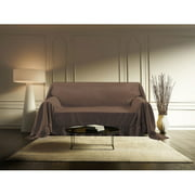 Kashi Home FT016279 Venice Furniture Loveseat Throw, Taupe