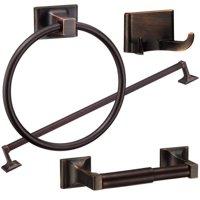 Randall Series 4-Piece Bath Accessories Set, Oil Rubbed Bronze