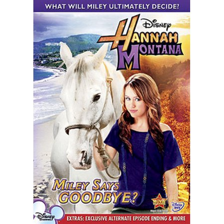 Hannah Montana: Miley Says Goodbye? (DVD)