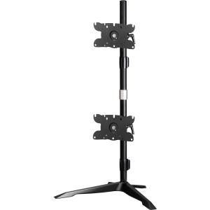 amer amr2s32v dual monitor stand vertical mount max 32 monitors