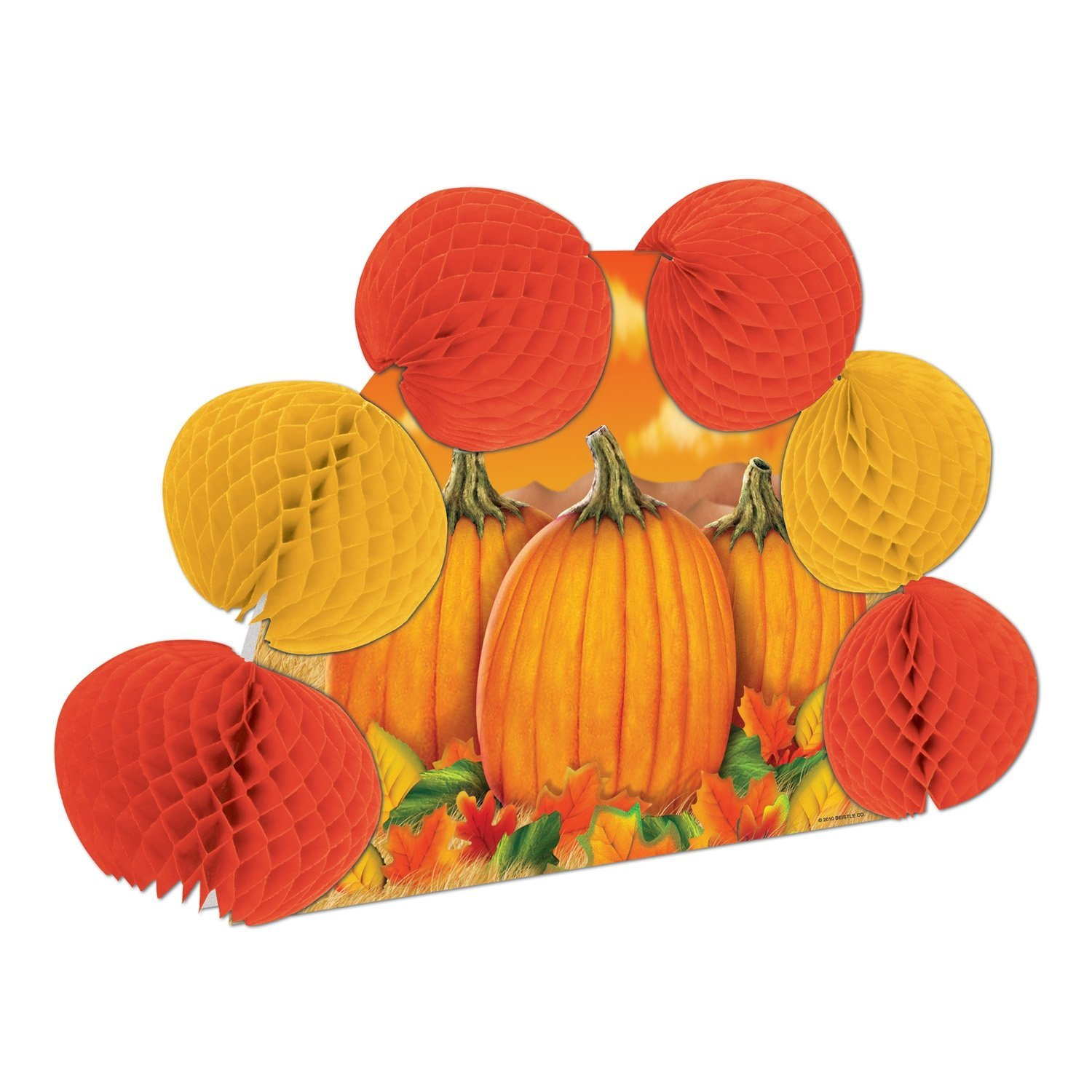 Fall Harvest Pop-Over Centerpiece Party Accessory (1 count) (1/Pkg), This item is a great value! By Beistle