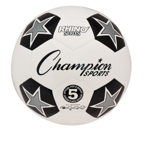 Champion Sports Soccer Ball Size 5 - Rhino Series