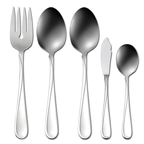 Oneida Flight 45-Piece Stainless-Steel Flatware Set, Service for 8