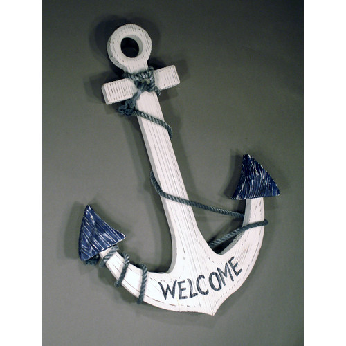 Judith Edwards Designs Welcome Anchor Wall D cor