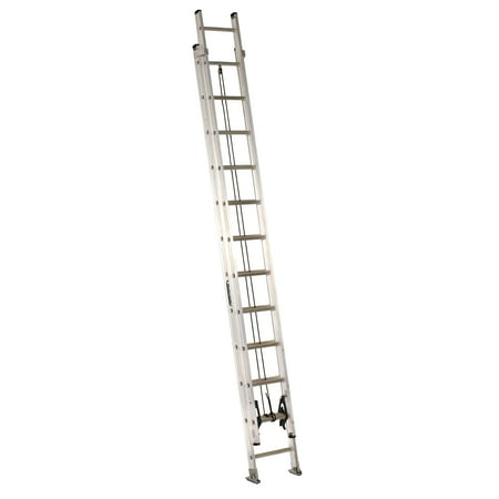 Louisville Ladder AE2224 24 ft. Aluminum Extension Ladder, Type IA, 300 Lbs Load Capacity