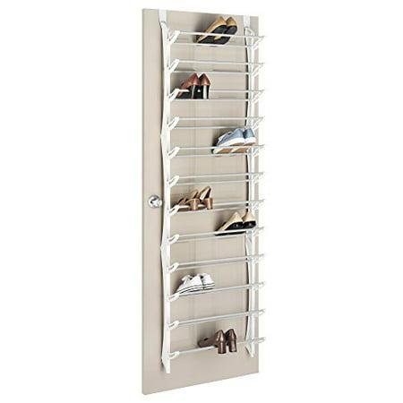 2e62587301d Over the Door Shoe Rack Store up to 36 Pairs of Men   Women Shoes -  Walmart.com