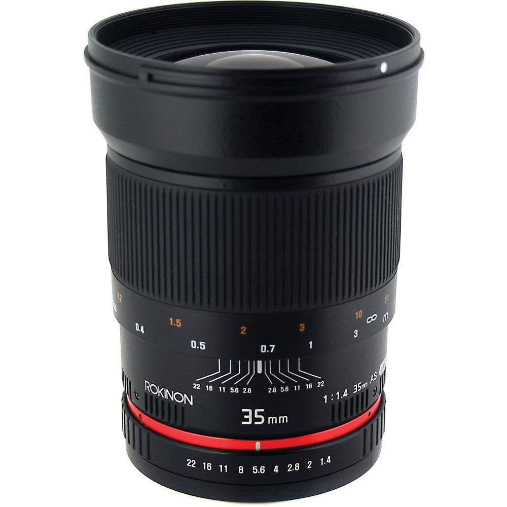Rokinon 35mm f/1.4 Aspherical Automatic Wide Angle Lens (for Nikon Cameras)