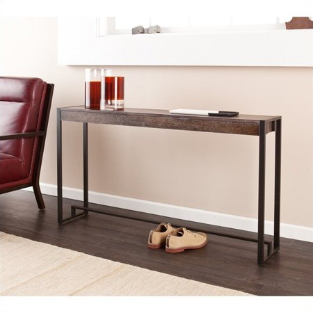 Holly & Martin Macen Console, Contemporary/Industrial Style, Burnt oak ()