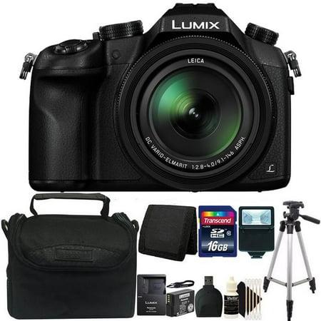 Panasonic Lumix DMC-FZ1000 DMCFZ1000 4K Long Zoom Digital Camera Pro (Best Long Zoom Point And Shoot Camera)