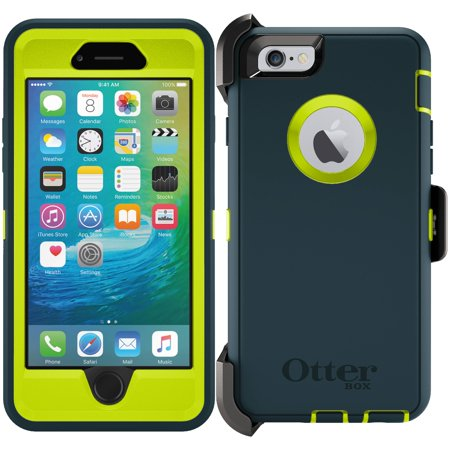 Iphone 3g Holster - OtterBox Defender Series Case For iPhone 6 & 6s w/ Holster - Jade Green