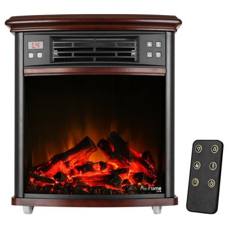e-Flame USA Portable Electric Fireplace Insert