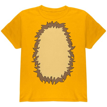 Halloween Lion Costume Youth T Shirt