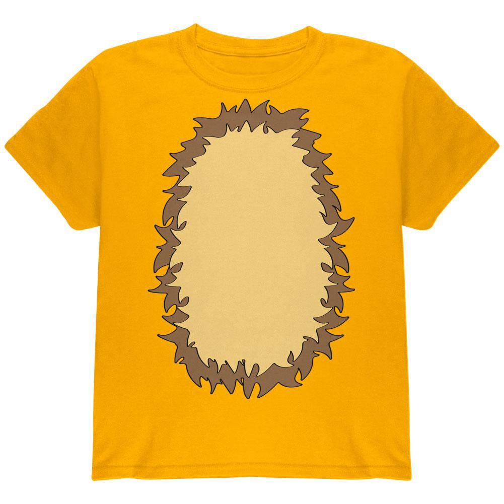 Halloween Lion Costume Youth T Shirt