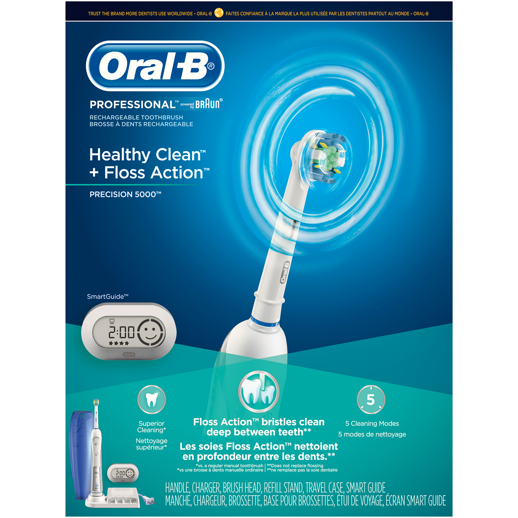 Oral-B ProfessionalCare SmartSeries 5000 Electric Toothbrush with SmartGuide