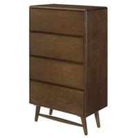Modern Contemporary Urban Design Bedroom Living Room Dresser Drawer Chest, Wood, Brown