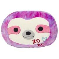 "Squishmallow 12"" Stackable Tie Dye Sloth Super Soft Plush"