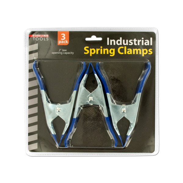 Metal Spring Clamps Set (Pack Of 4)