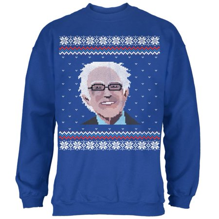 Election Bernie Sanders Ugly Xmas Sweater Royal Adult Sweatshirt