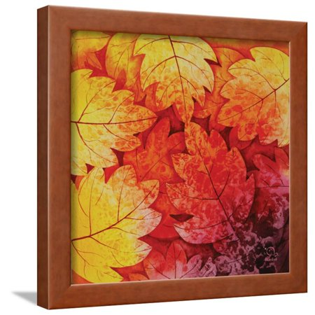 Autumn Hues I Framed Print Wall Art By Blue Fish ()