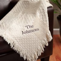 Personalized Throw, Available in Multiple Fonts
