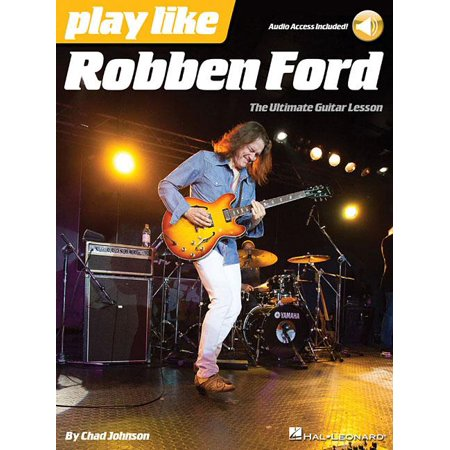 Play Like Robben Ford: Book with Online Audio (Other)