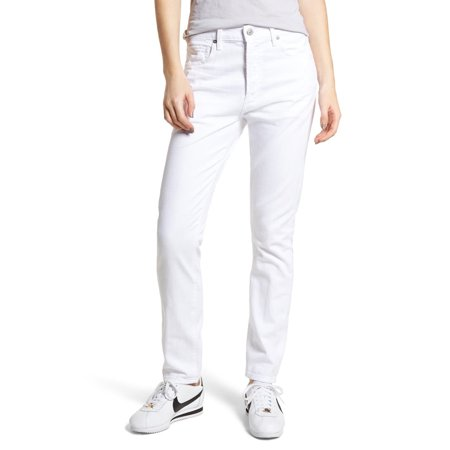 Citizens Of Humanity Corey Slouchy Slim Jeans, White,