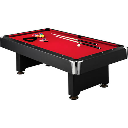 Pleasing Mizerak Donovan Ii 8 Billiard Table With 2 Cues Set Of Billiard Balls Triangle Brush And Chalk Home Interior And Landscaping Sapresignezvosmurscom