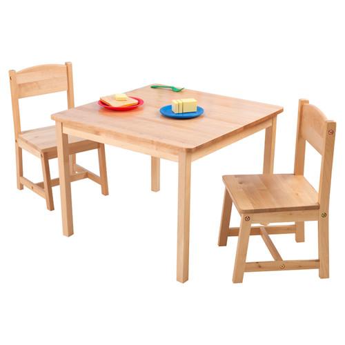 KidKraft Aspen Table and Chair Set Natural Walmart