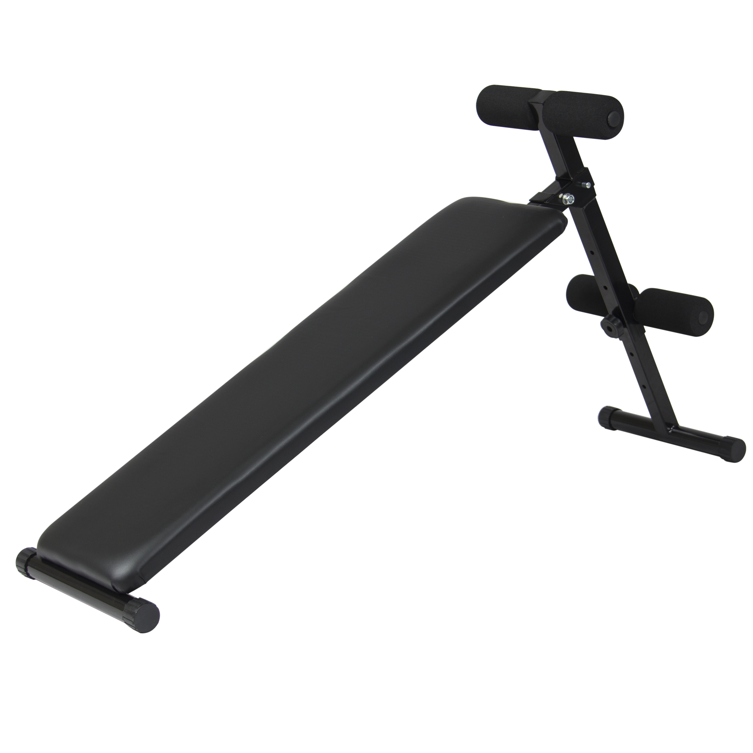 Best Choice Products Adjustable Decline Bench Crunch Board Fitness Home Gym by