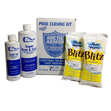 Blue Wave Chlorine Free Pool Winterizing Kit - Medium to 15,000 Gallons