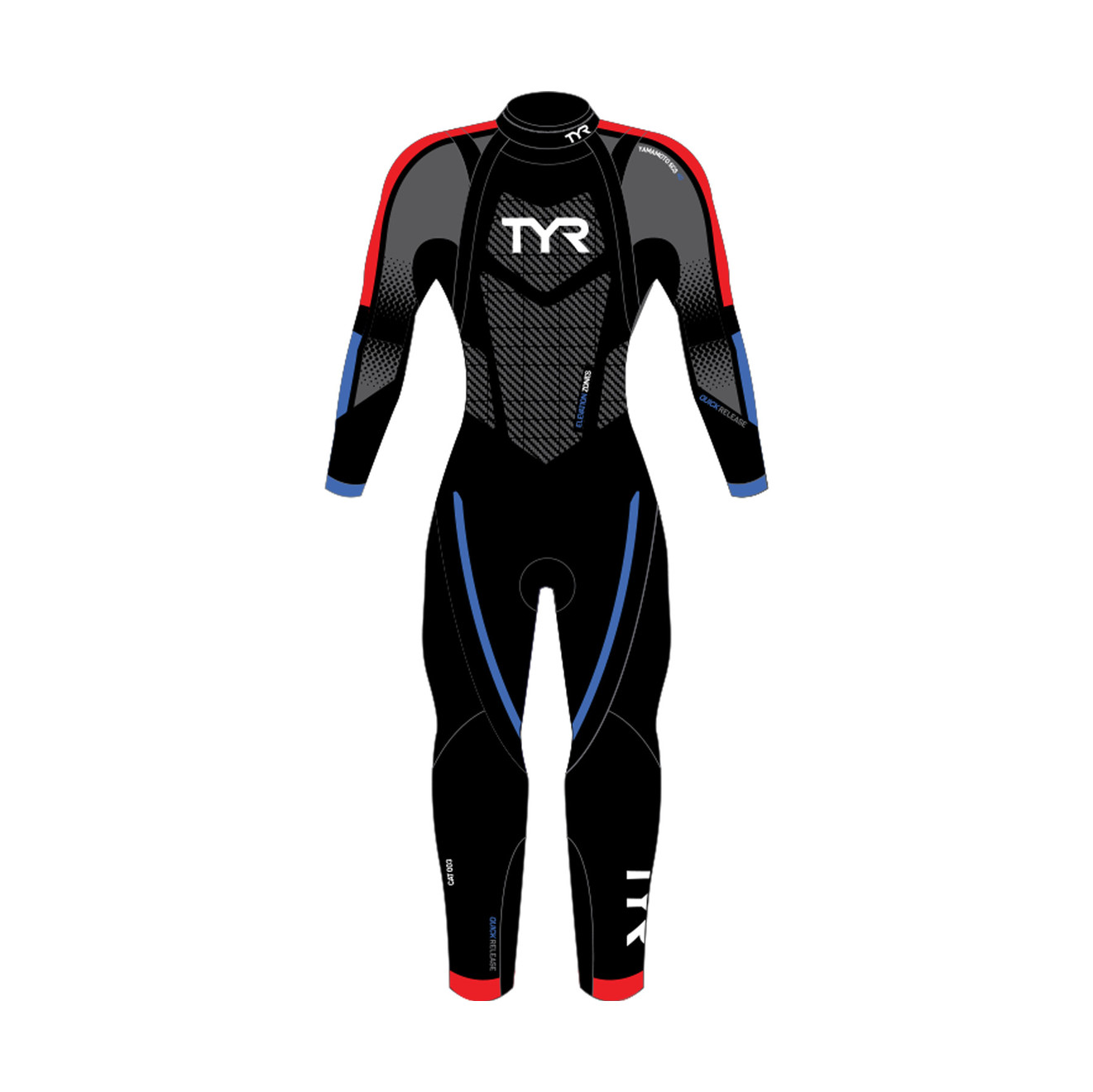 TYR SPORT Mens Hurricane Wetsuit Category 3