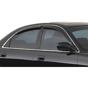 GT Styling 48722 Smoke Sport Vent-Gard Window Deflector - 4 Piece