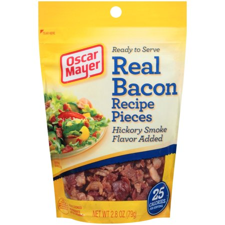Oscar Mayer Real Bacon Recipe Pieces Hickory Smoke Flavor, 2.8 OZ