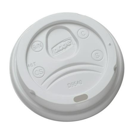 Dixie DXED9542 - Dome Drink-Thru Lids, 1000 per -