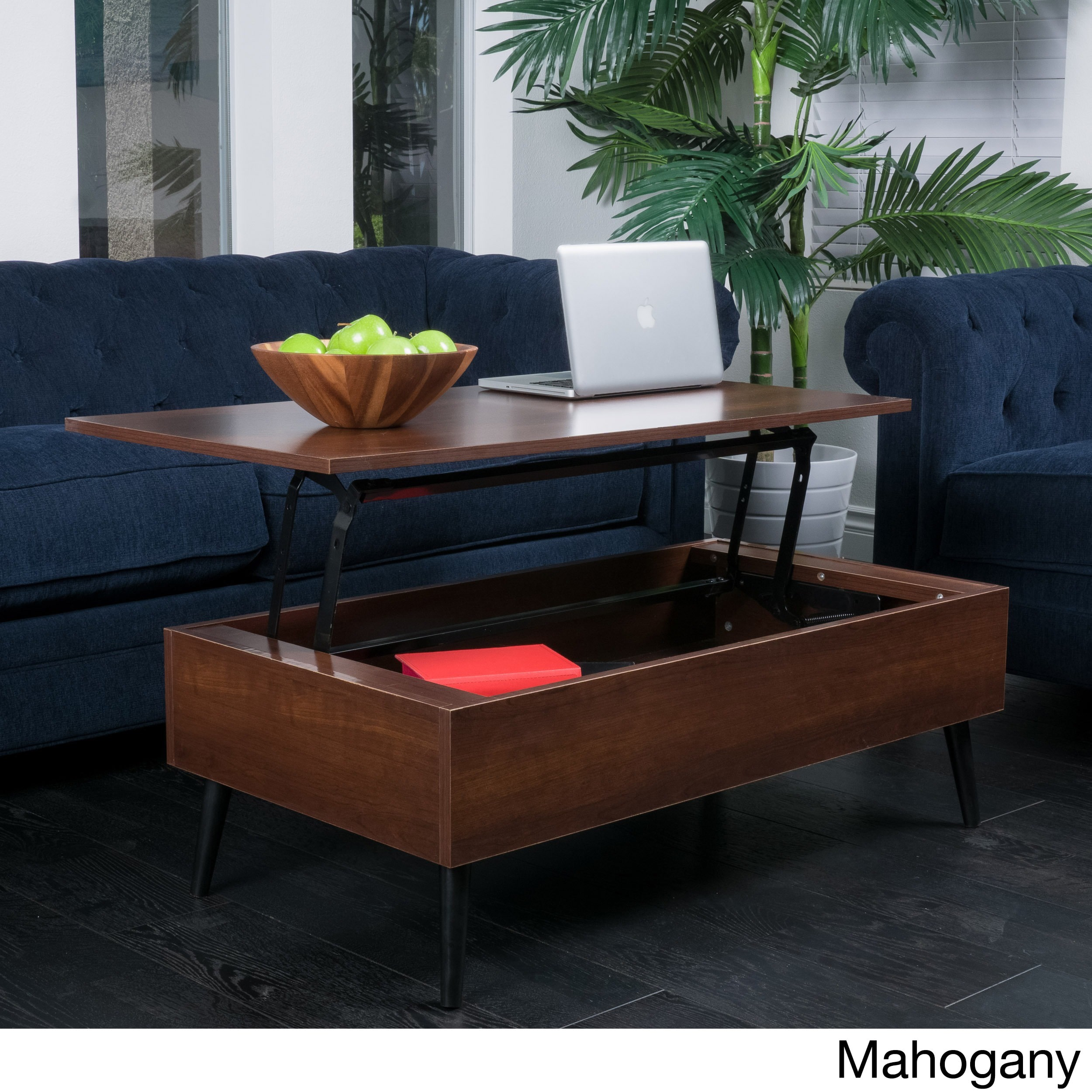 Christopher Knight Home Elliot Wood LiftTop Storage Coffee Table