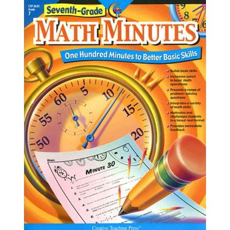 Seventh-Grade Math Minutes : One Hundred Minutes to Better Basic Skills