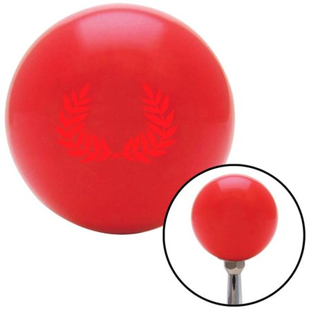 Red 2 Branches Pointing Up Red Shift Knob with M16 x 1.5 Insert Shifter Auto Manual Brody - image 1 de 1