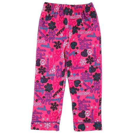 Pink Hope and Dream Pajama Pants for Girls (Kate Spade Dream A Little Dream Pajamas)