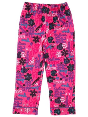 Pink Hope and Dream Pajama Pants for Girls