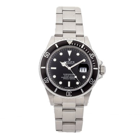 Pre-Owned Rolex Watch Submariner 16800 (15 Month WatchBox Warranty)
