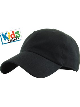 edc0733df9f Product Image Junior Size Cotton Baseball Cap Adjustable Dad Hat Youth Kids