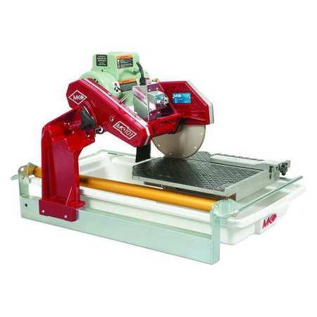 """MK DIAMOND PRODUCTS 155747 Pro Tile Saw,w/Stand,10"""",1-1/2 HP G4416128"""