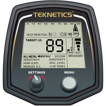 Teknetics T2LTD-BLK Special Edition T2 Metal Detector w/ 5
