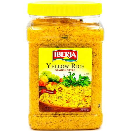 Iberia Yellow Rice  Spanish Style  3 4 Lb