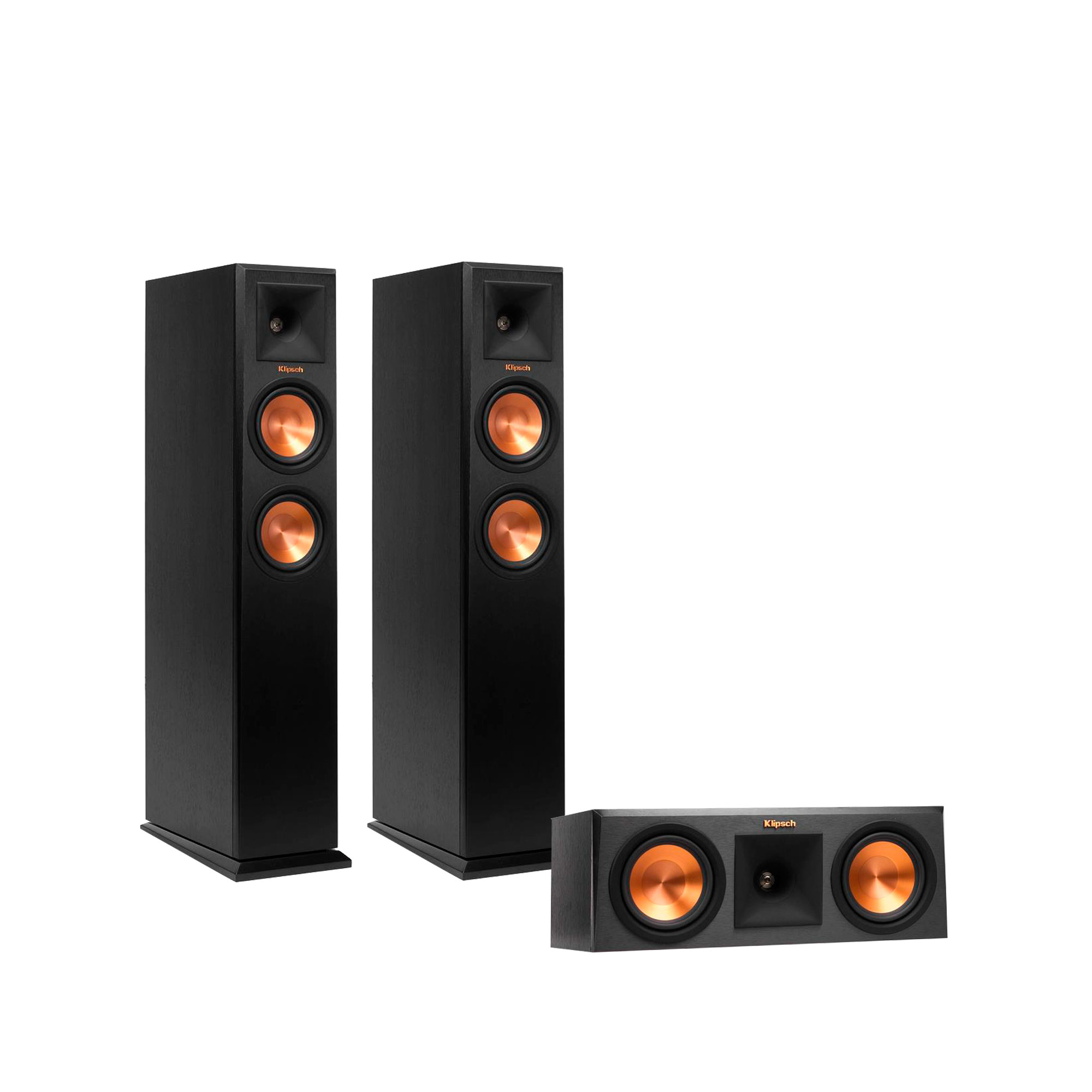Klipsch RP-250F Reference Premiere Floorstanding Speaker Package with RP-250C Center Channel Speaker by Klipsch