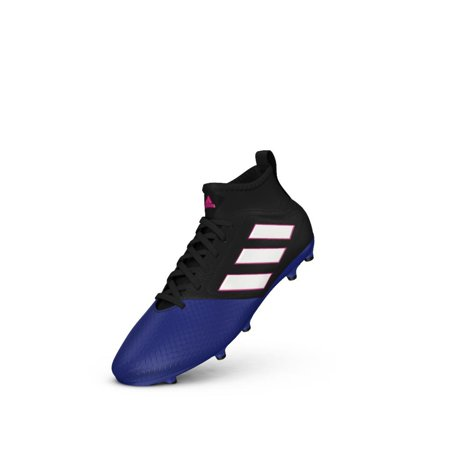 competitive price 469da fc24d Adidas Ace 17.3 Fg J Black/White/Blue Soccer Shoes ( BA9234 )