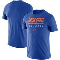 Boise State Broncos Nike Icon Wordmark Performance T-Shirt - Royal