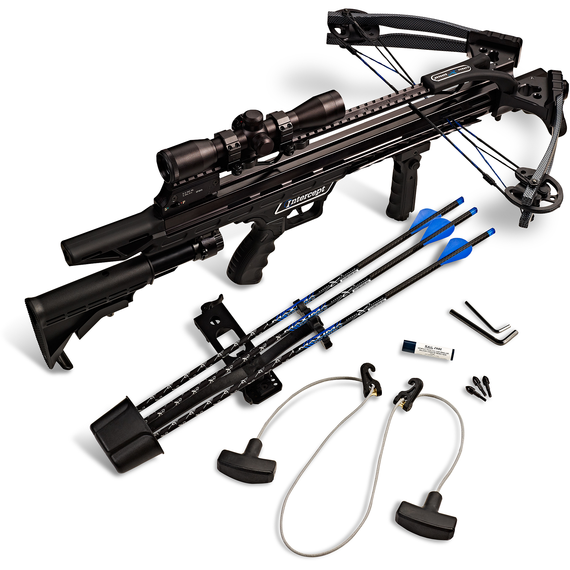Includes mounting hardware Camx Crossbows Low Ready Sling Camo